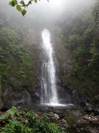 Waterfall, San Vicente,San Carlos, Costa Rica