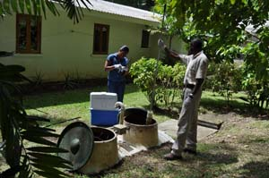 Package sewage treatment system, Barbados